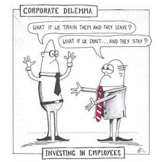 Employee Training Comic