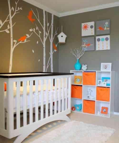 Comment Peindre Une Chambre D Enfant , Best Chambre Bebe orange Et ...