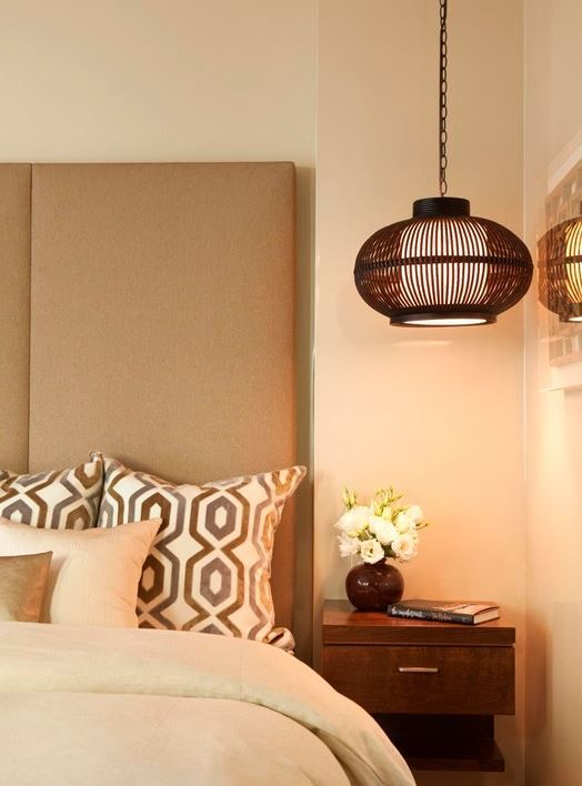 Japanese Cricket Lamp Roommichael Fullen Design Group New Lamp Bedroom Inspiration