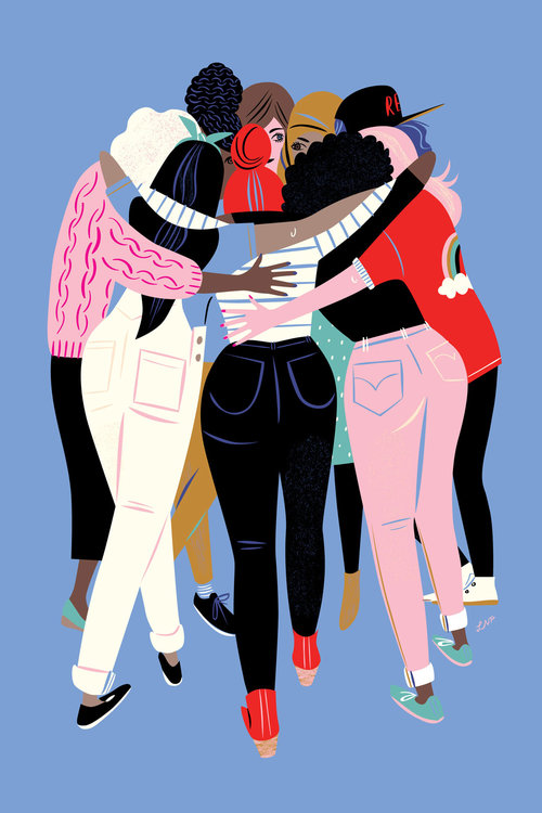 A year after the Women's March of artists reflect on what the women's movement means to them.