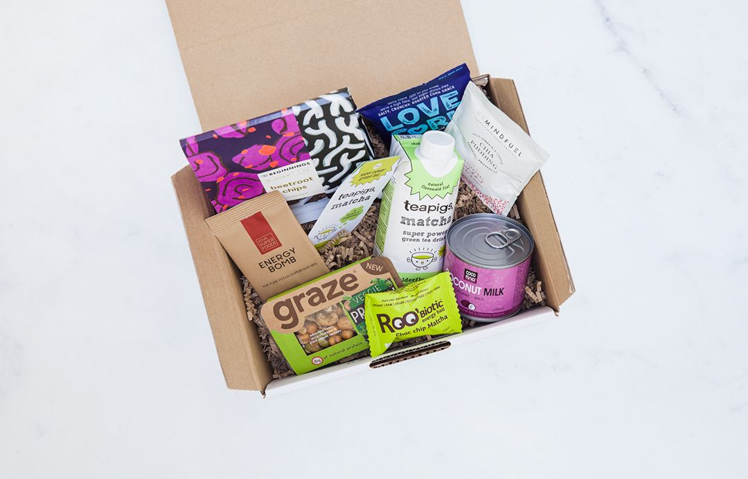Box de Abril já disponível em www.veganvibe.pt