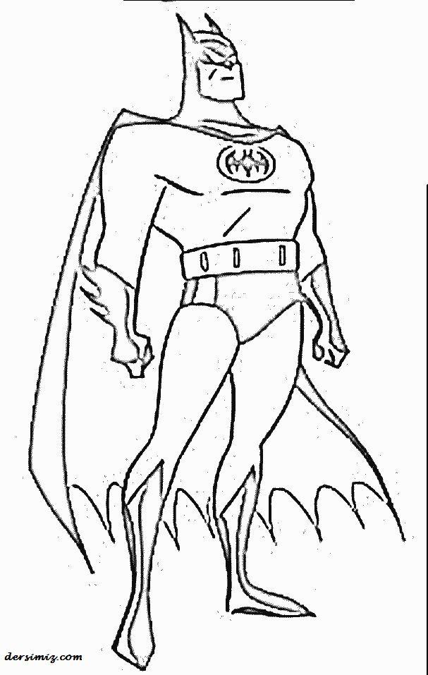 Batman Boyama Resmi Batman Boyama Batman Boyama Kitaplari