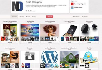 10 Pinterest Pages for Design Inspiration