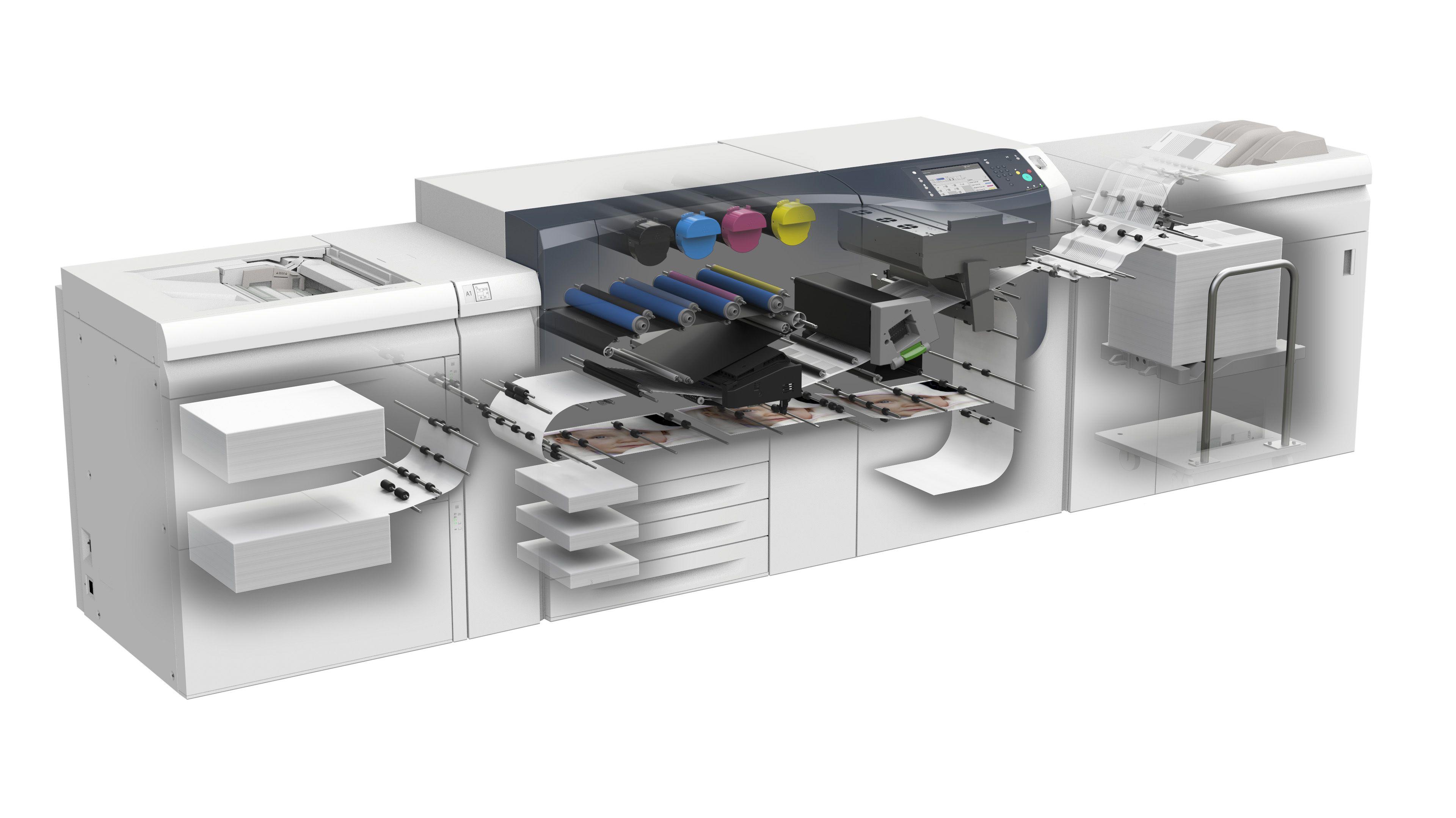 Xerox Versant 3100 Press Digital Prints Printing Press Office