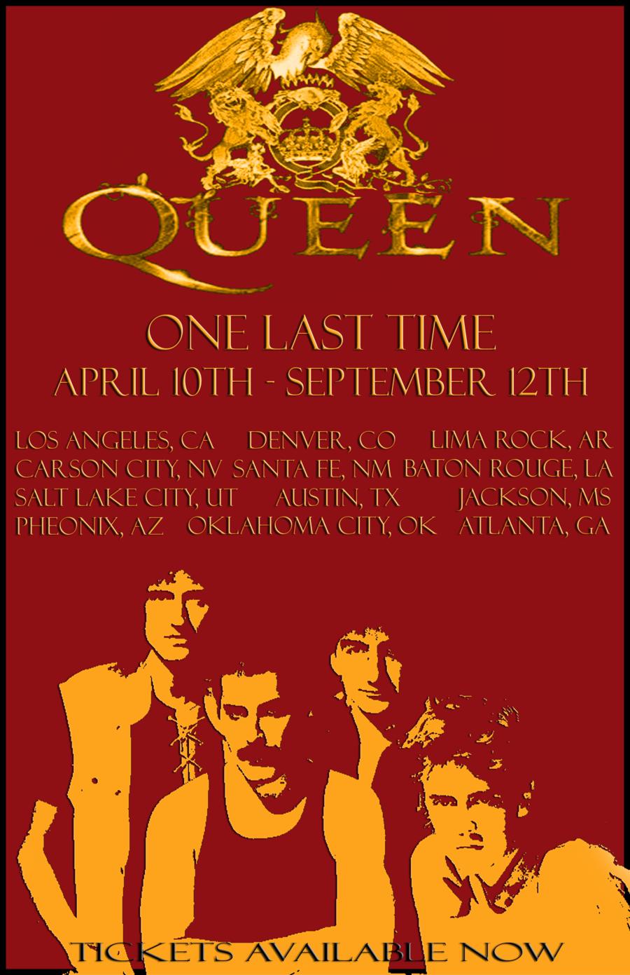 Concert Posters Queen