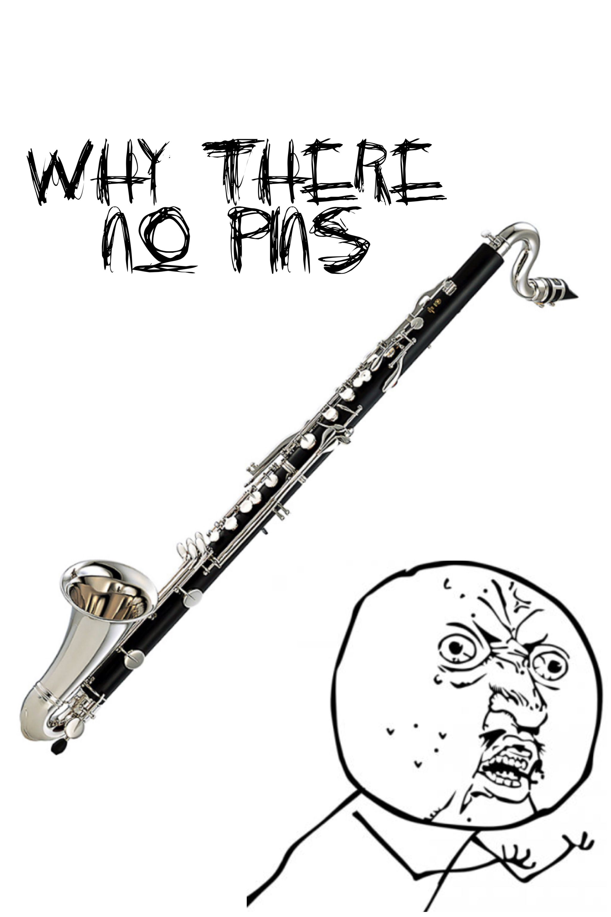 There are never any bass pins Band humor