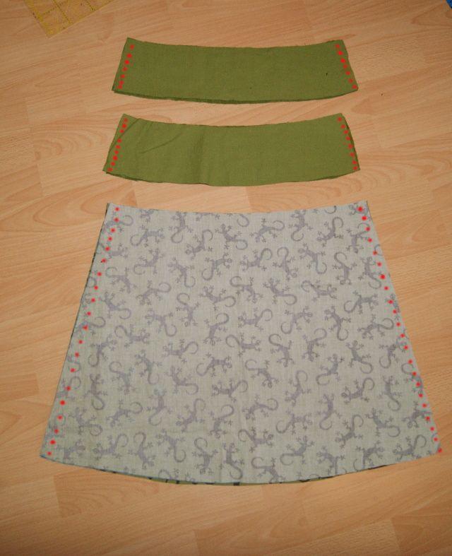 c2fe5835a29d Rock nähen - Näh-Markierung   Varrás   Sewing, Knitting und Knitting ...