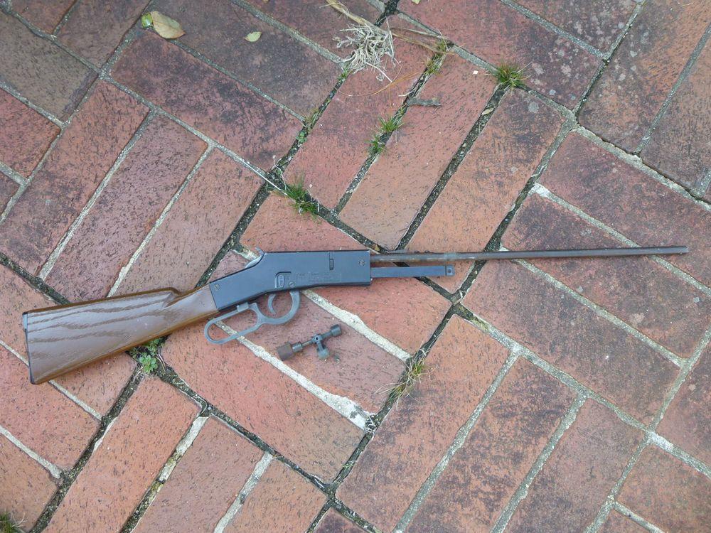 Vintage Crosman 73 Saddle Pal CO2 BB Gun Stock Trigger Parts