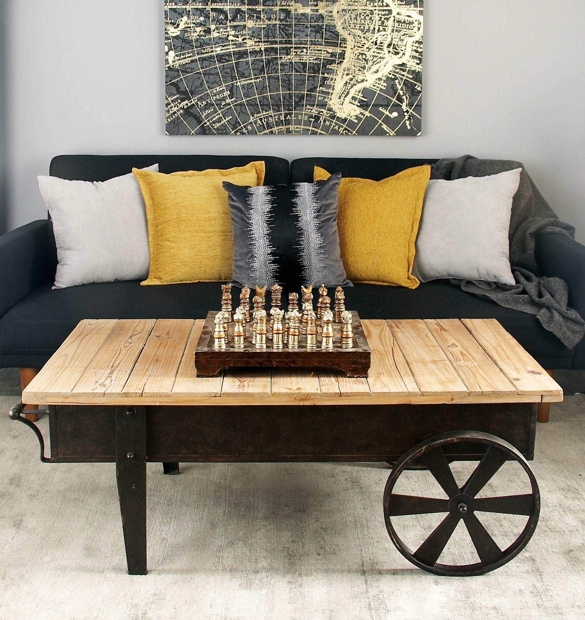 brimfield may coffee table wood coffee table cart on stunning wooden metal coffee table id=40515