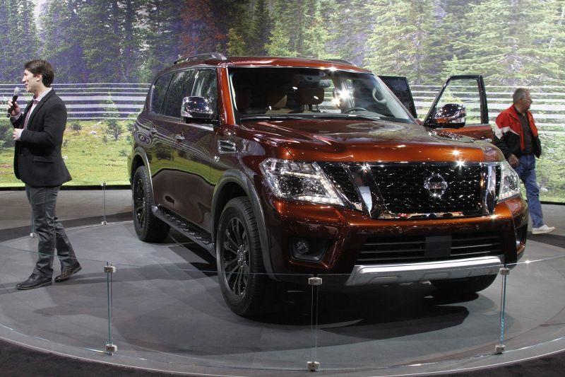 2019 Nissan Armada Review Price Towing Capacity Nissan Patrol Nissan Nissan Armada