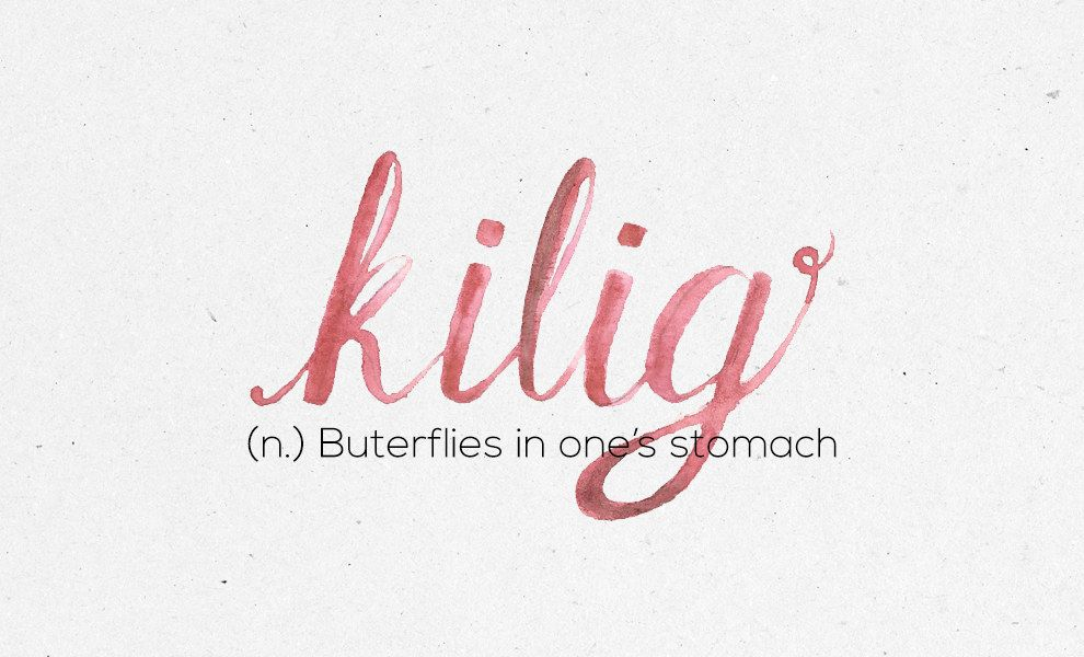 What does kilig mean