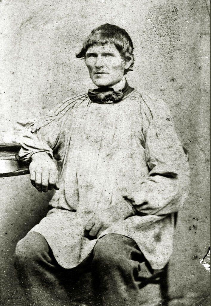 Mann aus Seelbach im Kittel, um 1870 #Marburg #evangelisch ...