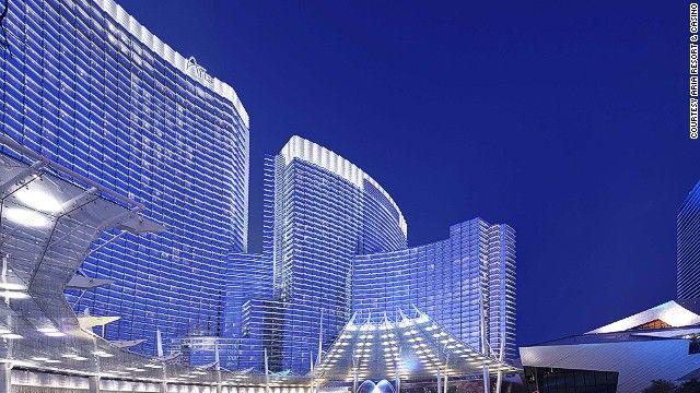 America S 10 Highest Tech Hotels Aria Las Vegas Las Vegas