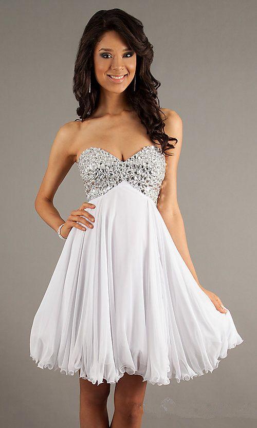 minihems.com short white dresses (24) #shortdresses | Dresses ...