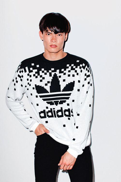 2e93e07205df 8 bit adidas sweater