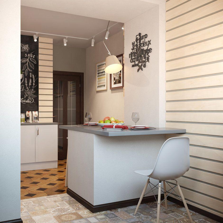 Фотография: в стиле , Кухня и столовая, Скандинавский ...