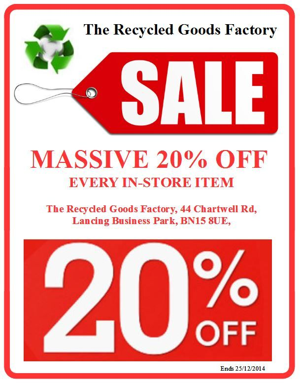 Sale now on 20% off all in-store items, Chest of drawers, Dressing tables, Wardrobes, Tables, all household furniture and much more prices from £10 .......