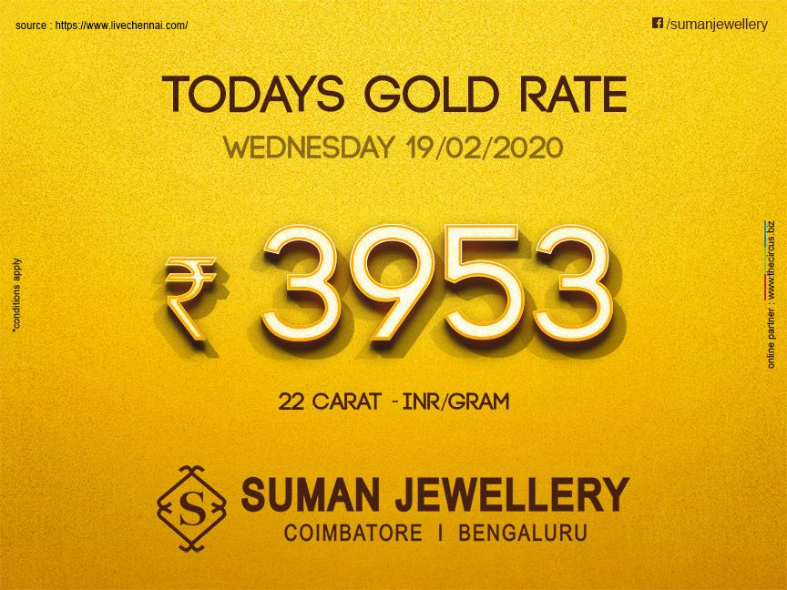 Today S Gold Rate At Suman Jewellery Stay Updated With Us To Know Daily Goldrate Gold Market Jewel Sumanjewellery C In 2020 Gold Rate Today Gold Rate Gold Tips