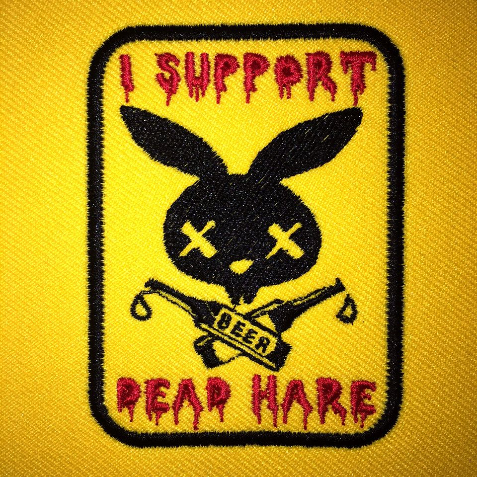I Support Dead Hare Patch by DeadHareHaberdashery on Etsy