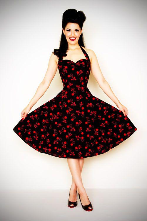 168 Stop Staring! 1930s Style Navy & Ivory Railene Dress | Style ...