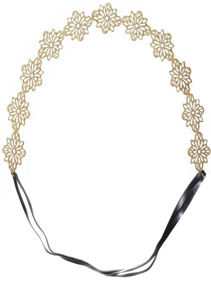 Nina Headband from Crown Jewels: Hair Accessories on Gilt