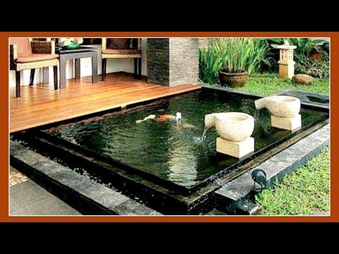 33 ide kolam kecil minimalis di depan rumah - youtube