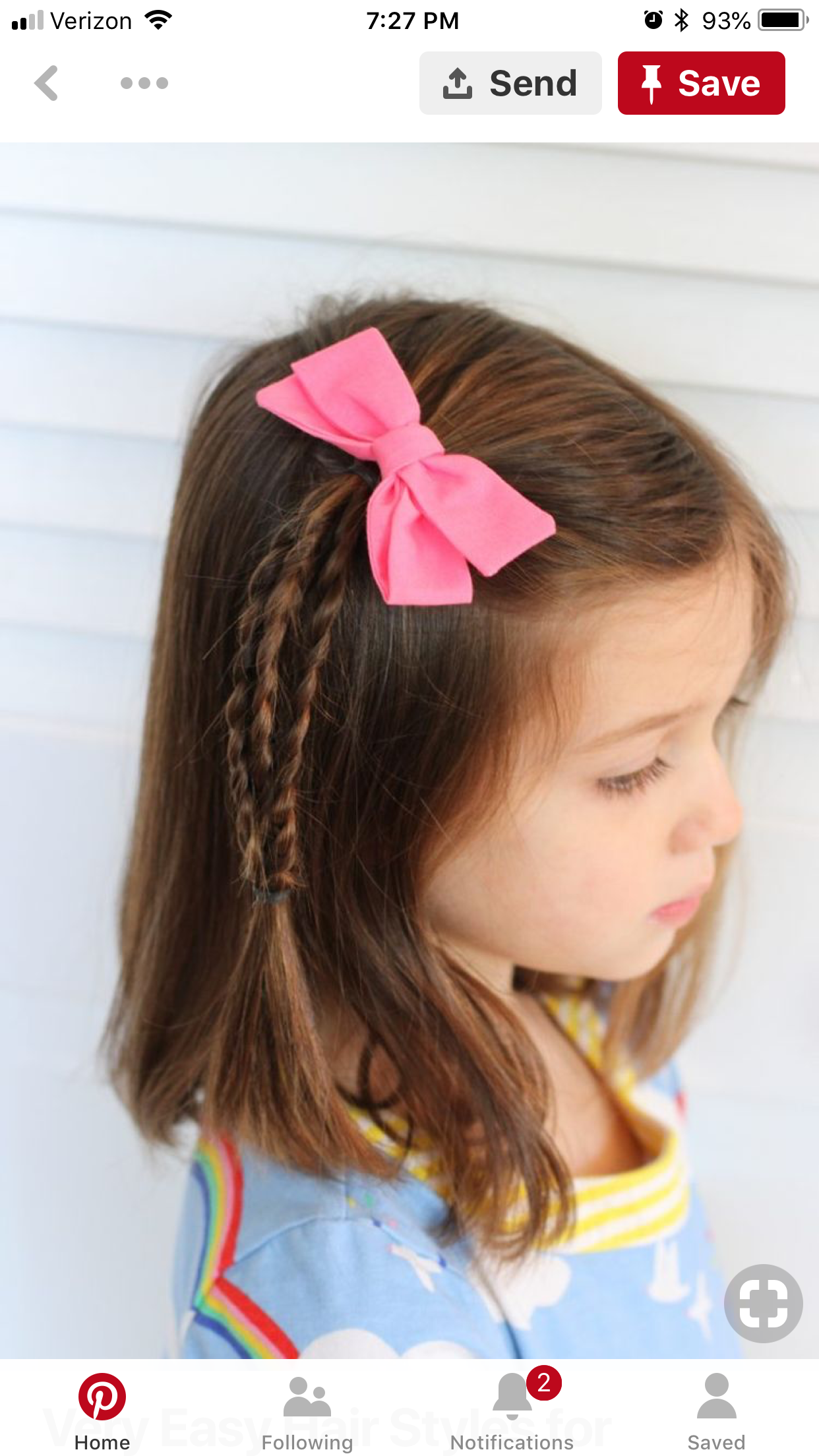 Pin By Carley Rojo On Hairstyles For Caizley Girls Hairstyles Easy Little Girl Hairdos Little Girl Haircuts