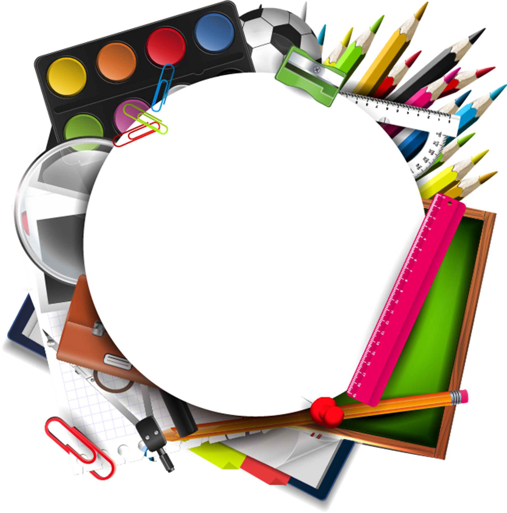 View Full Size Craft Art Supplies Png Clipart And Download Transparent Clipart For Free Like It And Pin It Clip Art Art Kit Arts And Crafts