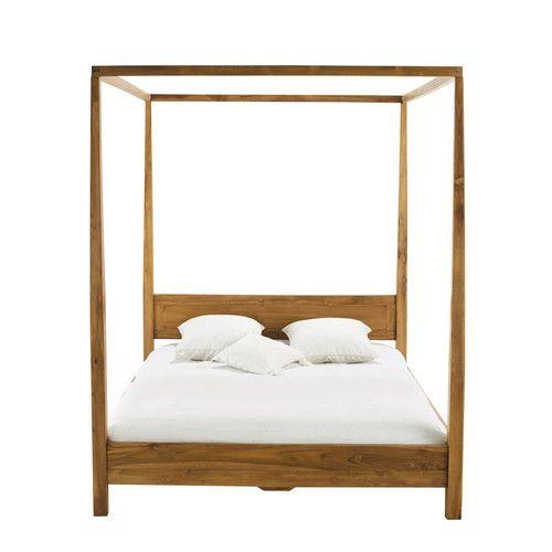 camas en madera de teca - Buscar con Google | DECORACION | Pinterest ...