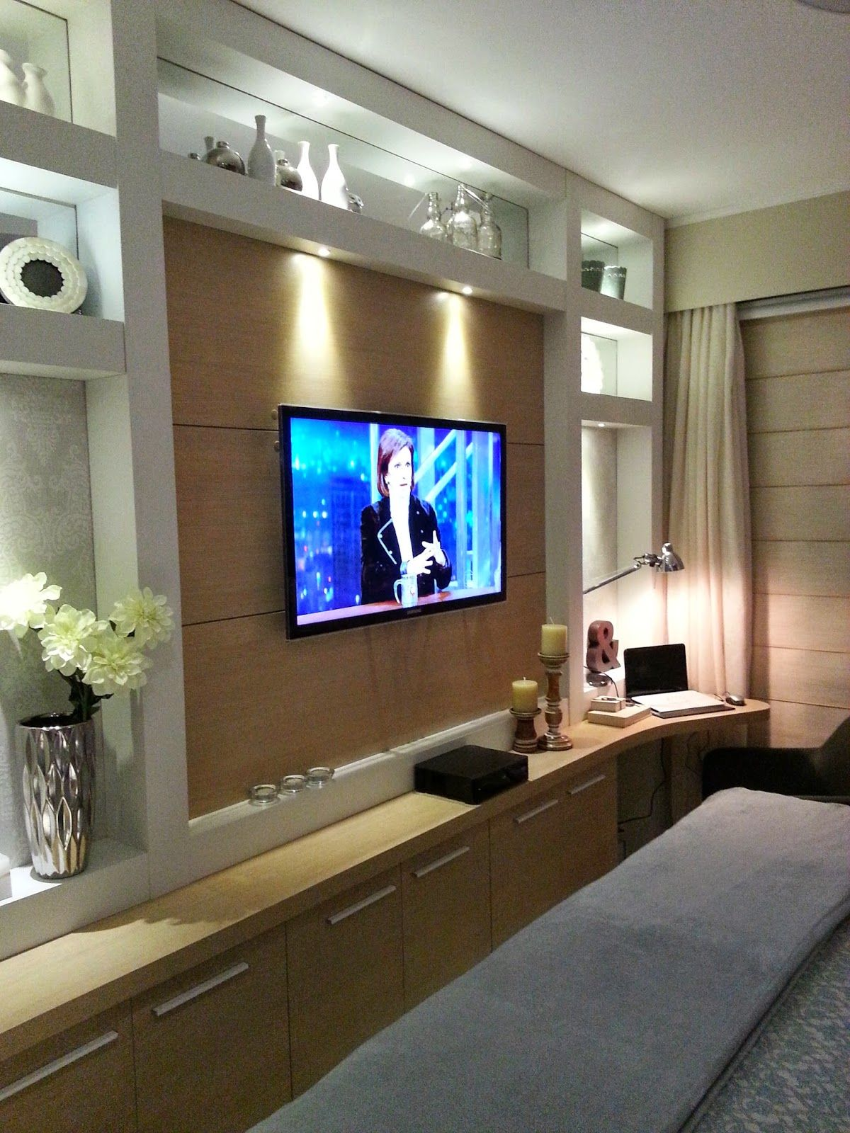 arquitetura e interiores muebles jcl pinterest wohnzimmer schlafzimmer und tv wand. Black Bedroom Furniture Sets. Home Design Ideas