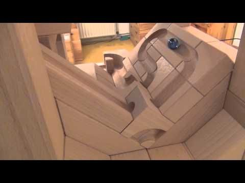 Cuboro Cugolino Kugelbahn Maximum YouTube Marble Machine - Route 66 youtube