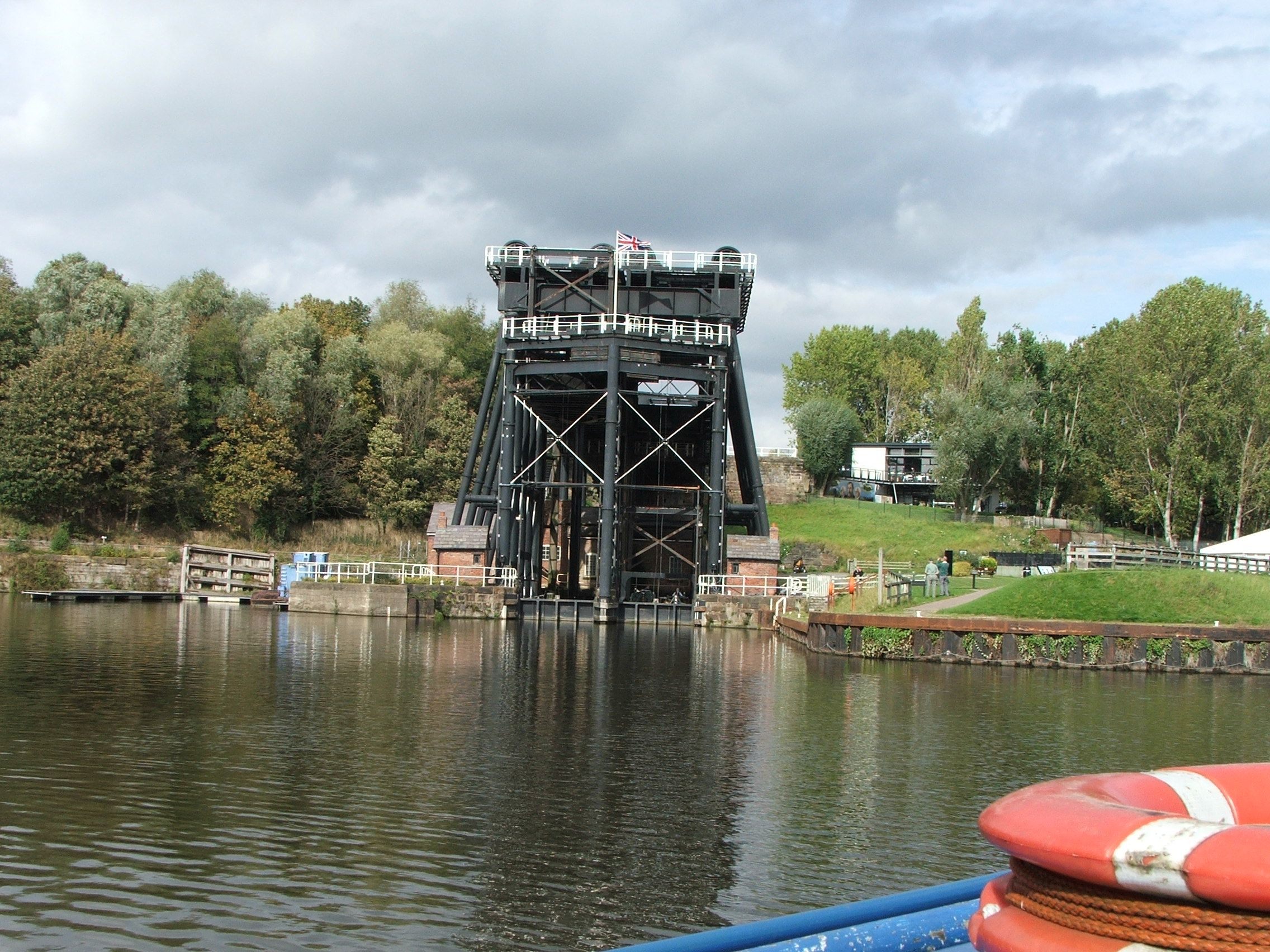 tha Anderton boat lift- one of the engineering marvels of Victorian England