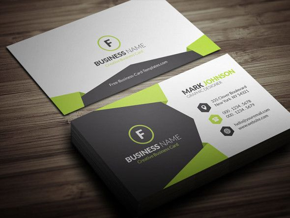 Geometric Style Corporate Business Card Template Free Download Cp00021 Sample Business Cards Cool Business Cards Free Business Card Templates