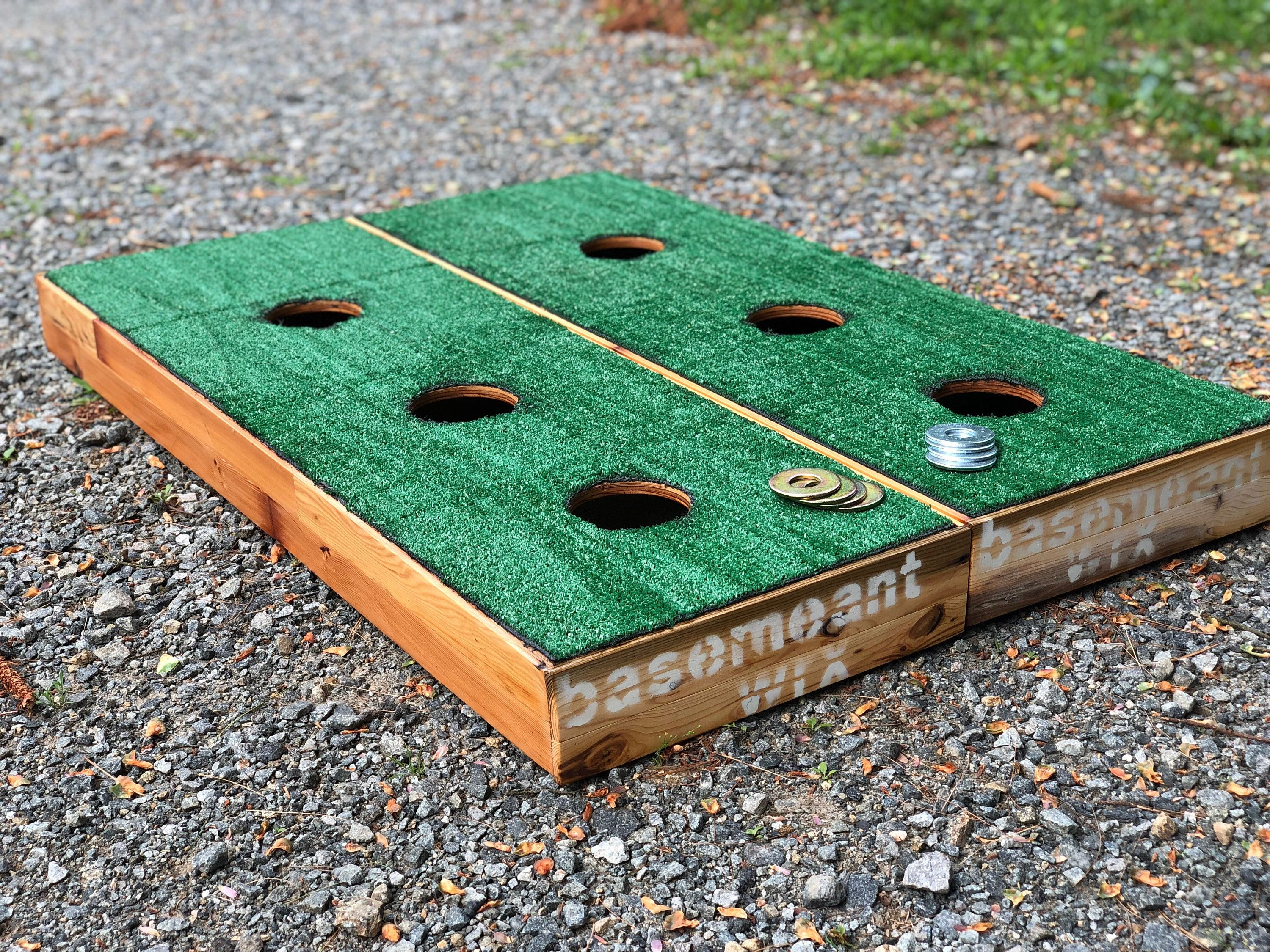 Washers Toss Lawn Game Backyard Lawn GAmes Washer toss