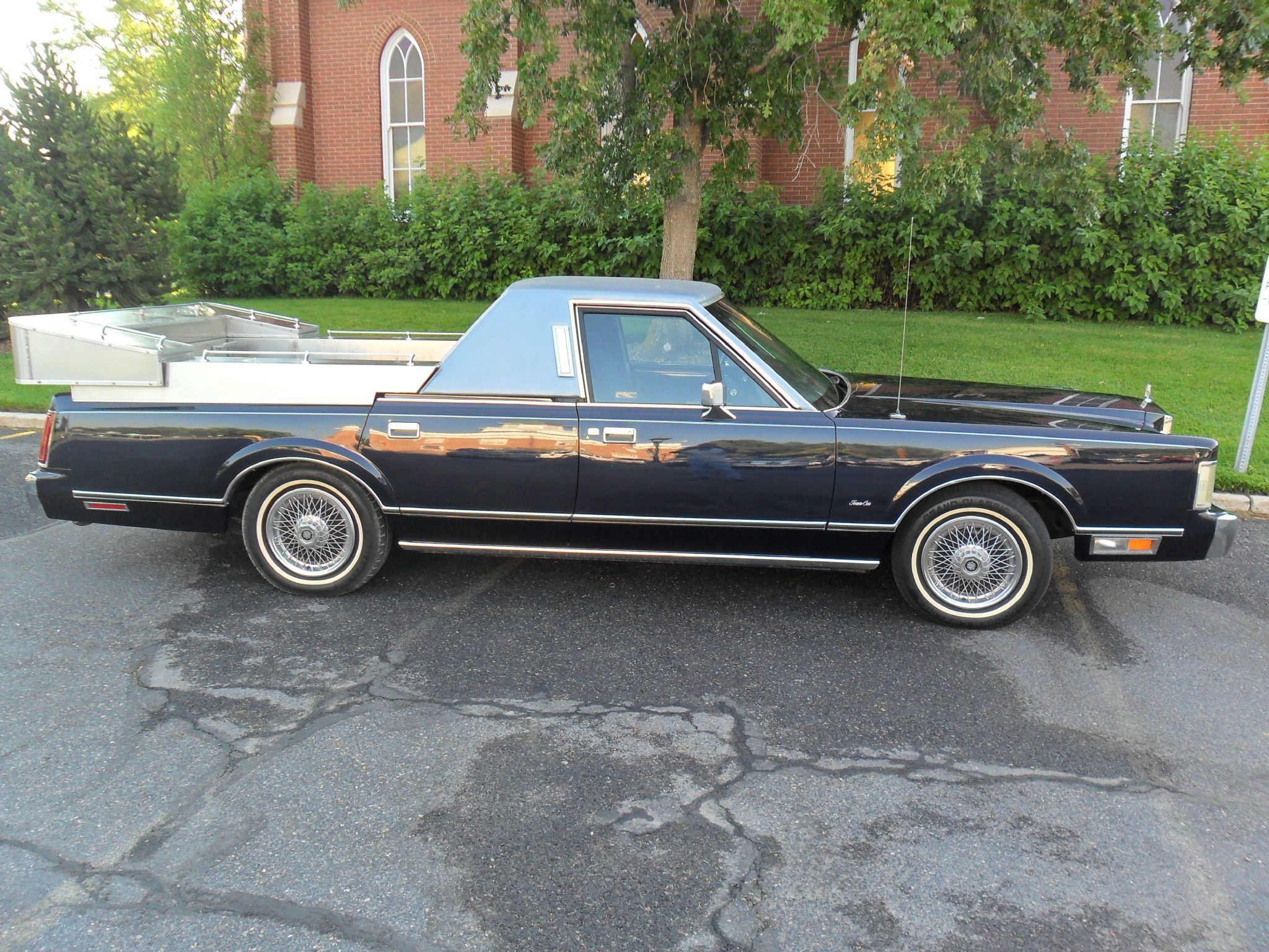 1986 Lincoln Continental Town Car Flower Car By Speciality Coach