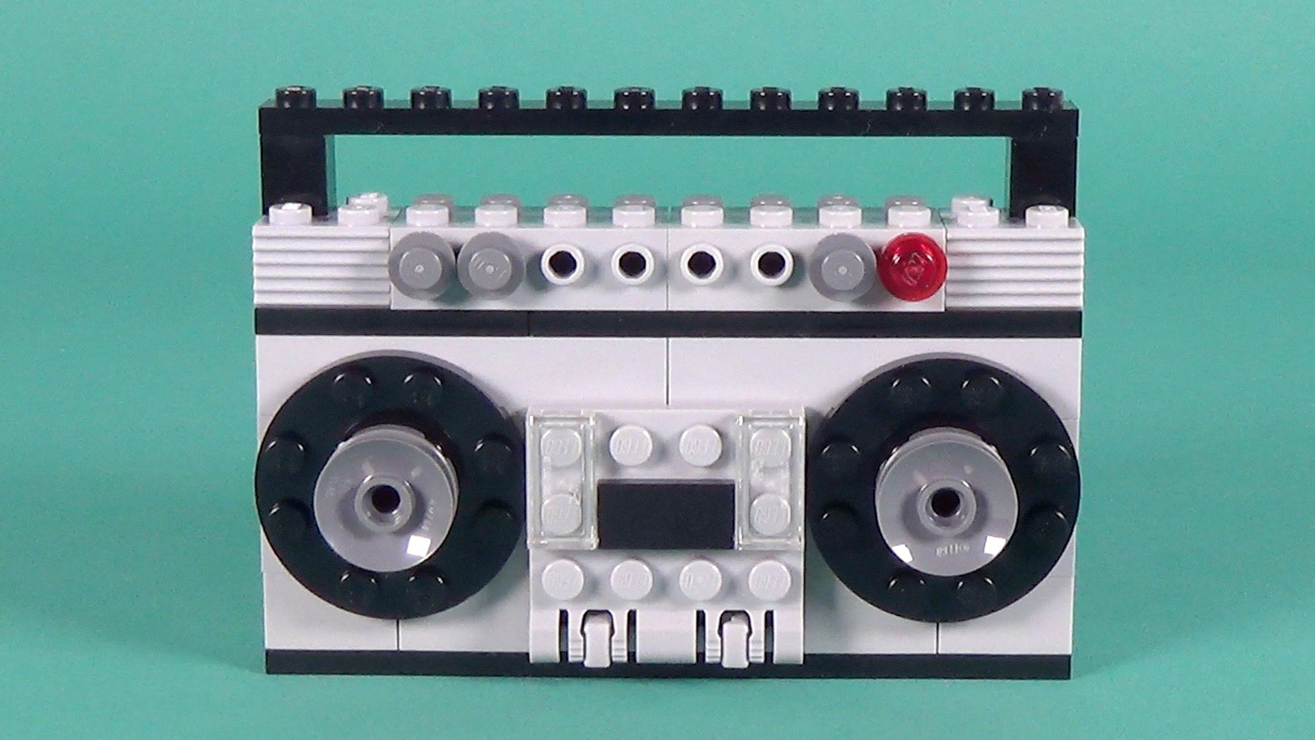 Lego Radio Cassette Player Building Instructions Lego Classic