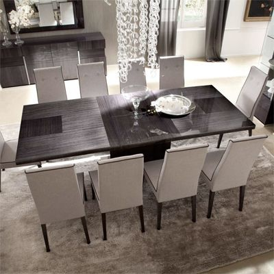 The Borgia Large Extending Dining Table Dining Room Table Adorable Extendable Dining Room Sets Design Inspiration