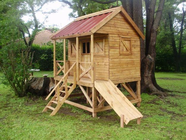Resultado de imagen de casitas de madera para ni os casa lucas pinterest casa de madera - Casa munecas eurekakids ...