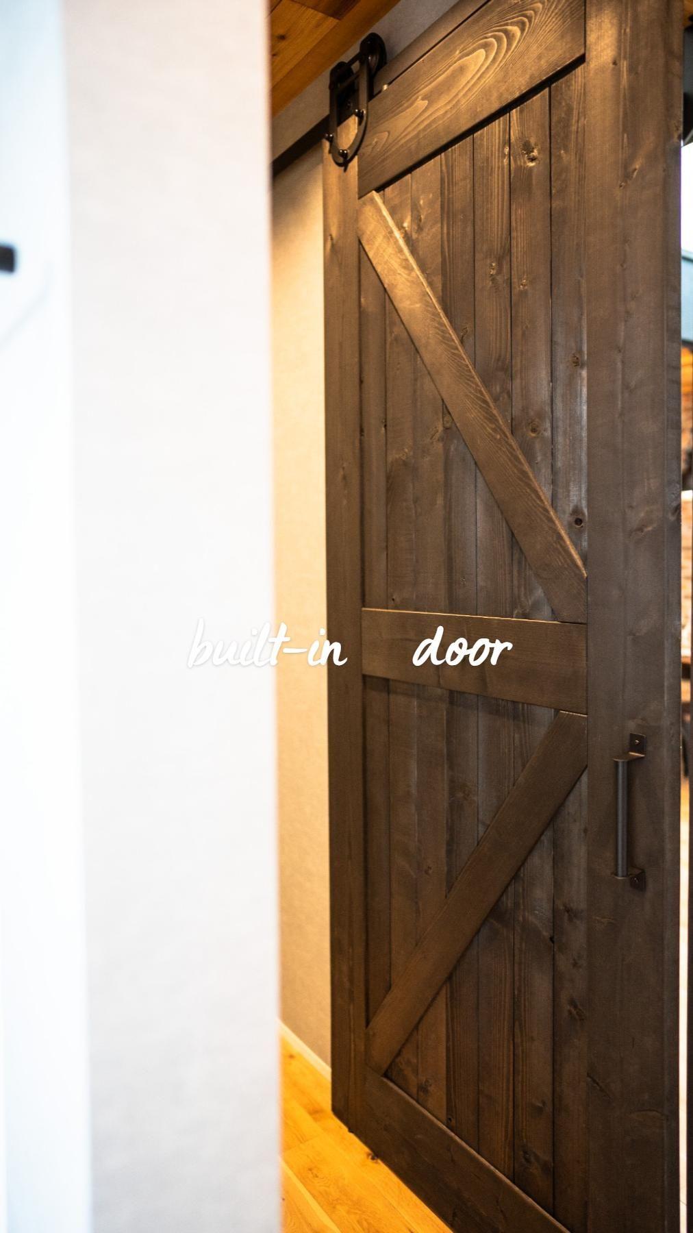 various built-in door