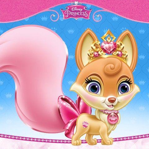 Aurora S Fox Nuzzles Drawing By Disney Sleepingbeauty