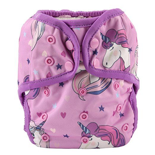 Amazon Com One Size Cloth Diaper Cover Snap With Double Gusset