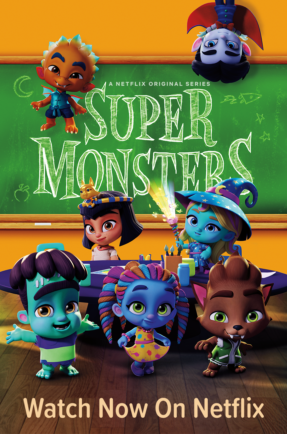New Episodes Now Streaming Netflixsupermonsters Kids Playing Monster Birthday Parties Netflix