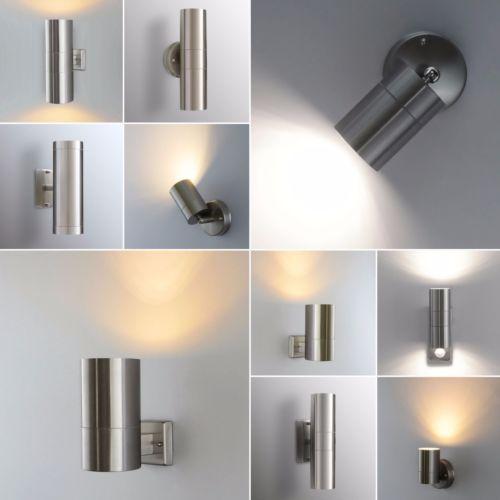 Details zu Aussenleuchte Wandleuchte Wandlampe Edelstahl Aussenlampe