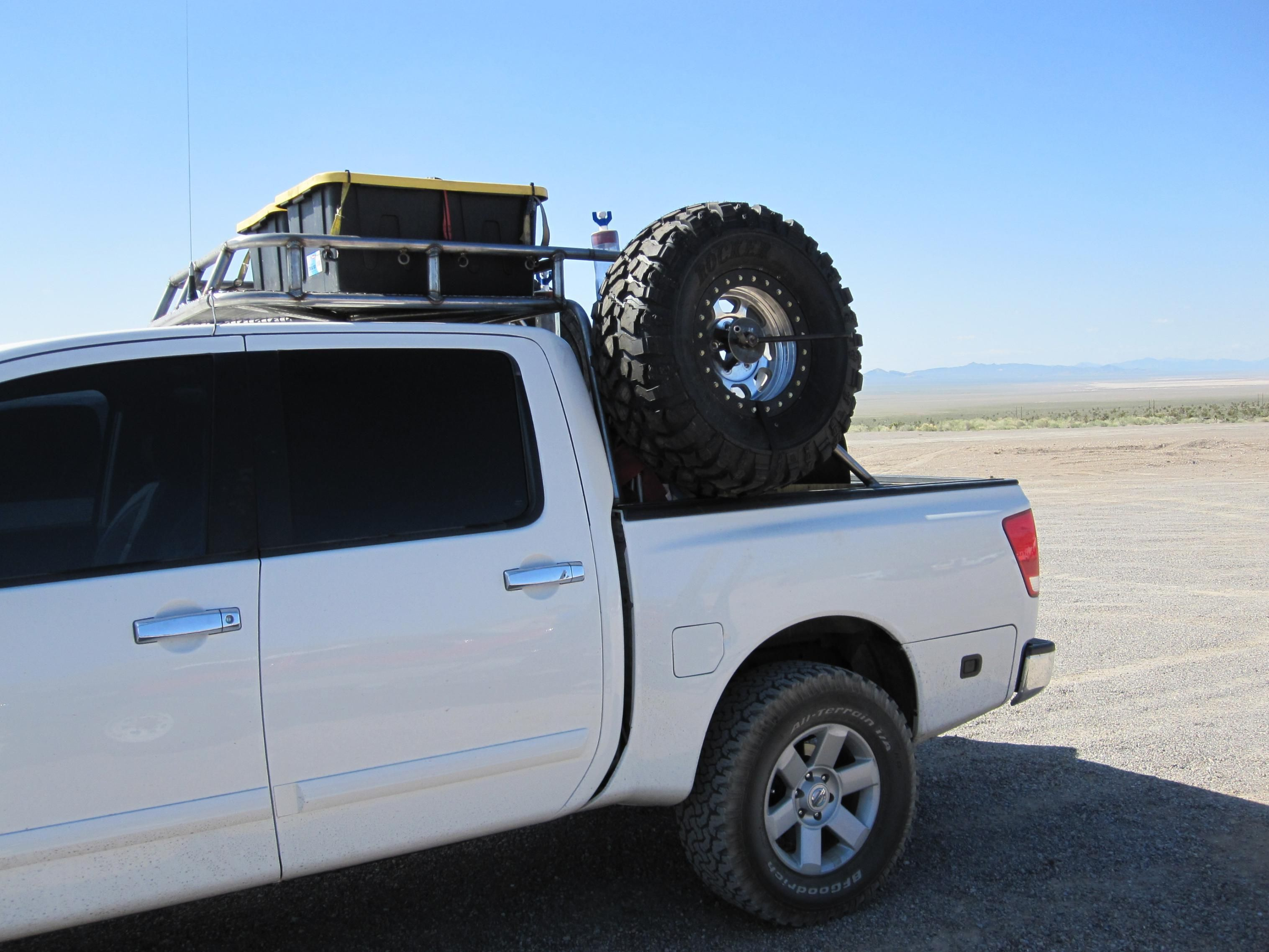 Dissent offroad racks on my truck, Truck