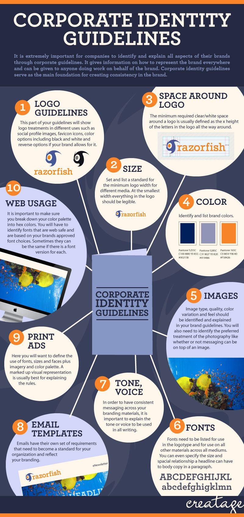 Need some tips for creating a memorable corporate identity ...