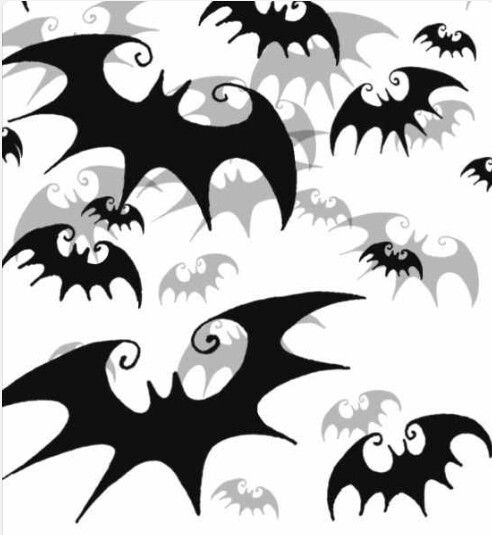 Nightmare Before Christmas Bats