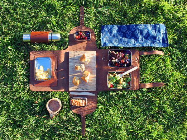 期待の新人デザイナー・イワンKILROEのピクニックキット♡ | 海外家具・インテリア・雑貨の最新人気情報【kagu-teria】