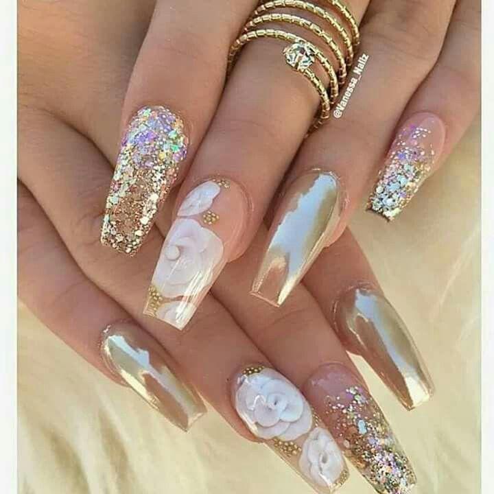 Pinterest: @sereinserenity   vibez   Pinterest   Nail nail, Chrome ...