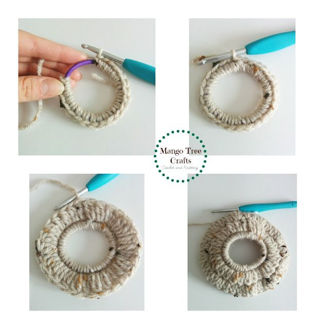 Mango Tree Crafts: Messy Bun Hat Free Crochet Pattern Size Preteen ...