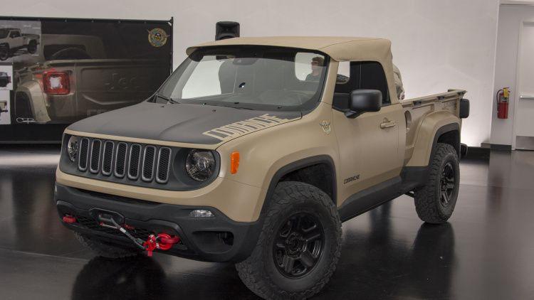 2016 Jeep Comanche >> 2016 Jeep Comanche Concept Jeep Jeep Jeep Renegade 2016 Jeep